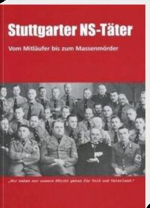 BuchCover: Stuttgarter NS-Täter